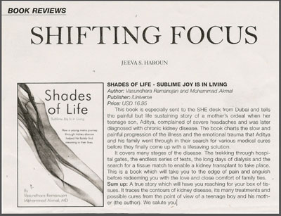 Review from 'She' - Pakistan Magazine